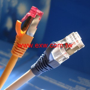 Cat6A S/FTP Patch Cord